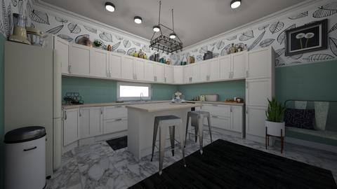 Pastel Kitchen - Kitchen  - by Jodie Scalf