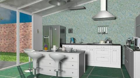 KW - Modern - Kitchen  - by milyca8