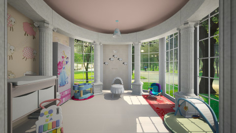 Happy life - Kids room  - by Pilita Jabers
