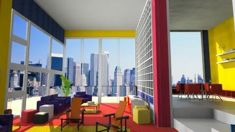 Primary_Cubic Living - Modern - Living room  - by giulygi