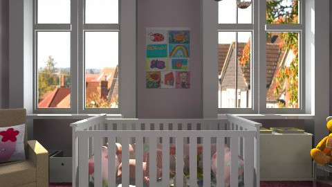 Dwellstudio Crib Set - Modern - Kids room  - by anjuska9