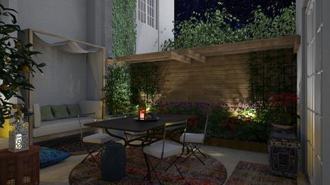 Urban garden remix1 - Garden  - by mikaelahs
