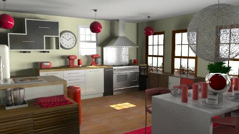 KitchDine - Eclectic - Kitchen  - by camilla_saurus