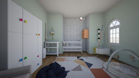 nursery - Kids room  - by mimiclara