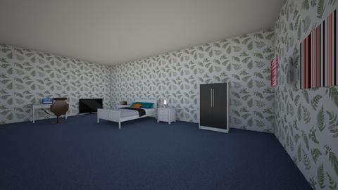 Teenage room - Bedroom  - by aishapisha