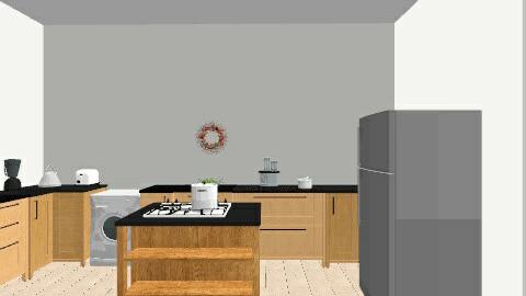 kitchen  - Minimal - Kitchen  - by saliha