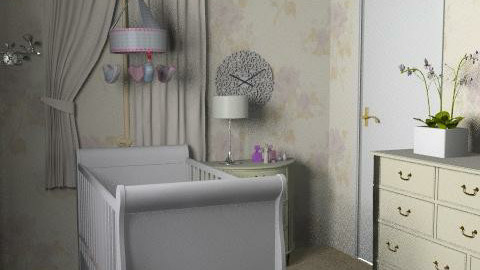 baby bedroom - Classic - Bedroom  - by Fernanda Balbuena