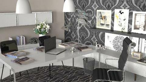 Dream Office - Modern - Office  - by designgirl298