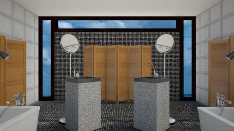 Edgy Bath - Modern - Bathroom  - by 3rdfloor