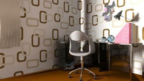 RetroBedroom - Retro - Bedroom  - by SaraH_PinK
