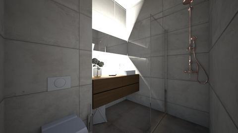 Kupatilo SLO - Bathroom - by Bokalokokalo