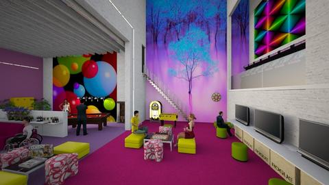 Matilda's Fun gaming Room - by Matilda de Dappere
