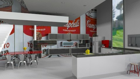 Ic0n House no2 kitchen - Minimal - Kitchen  - by kitty