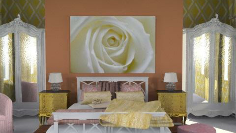 rose room - Glamour - Bedroom  - by chania