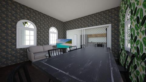 Comedor - Dining room  - by David_Mirroni