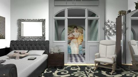 1645 - Eclectic - Bedroom  - by milyca8