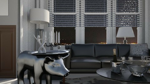 Dutch design, in Korea - Modern - Living room  - by Amy Neil
