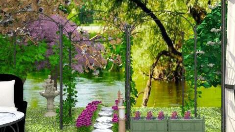 Lakeside Garden - Classic - Garden  - by PomBom