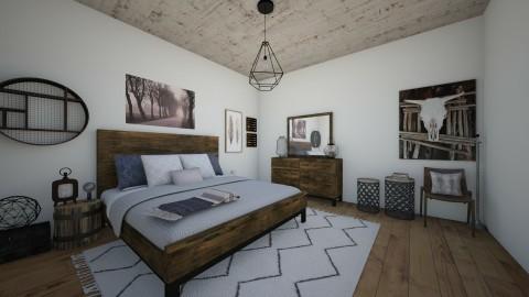 Boho bedroom - Rustic - Bedroom  - by Malwalker02