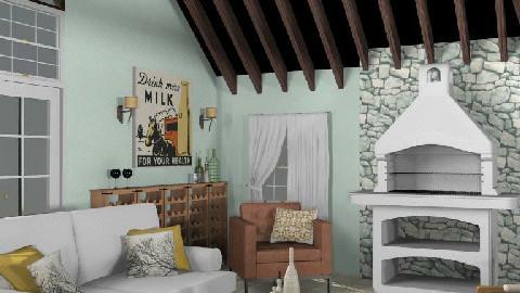 T12- Rustic comfort - Rustic - Living room  - by gingerpantz