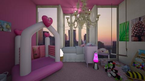 Princess Bedroom - Eclectic - Kids room  - by HIHELLOHI