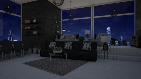 Room 1 - Glamour - Living room  - by karina ae