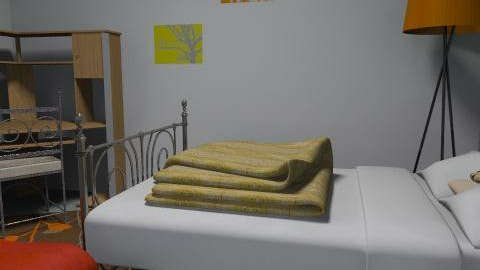 unit - Country - Bedroom  - by manuella