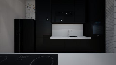 cozinha e sala jantar - Kitchen  - by bruna matos