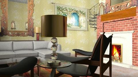 Modern Castle  - Vintage - Living room  - by natural11