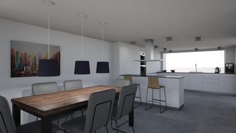 kitchen and dining room - Kitchen  - by eliskat