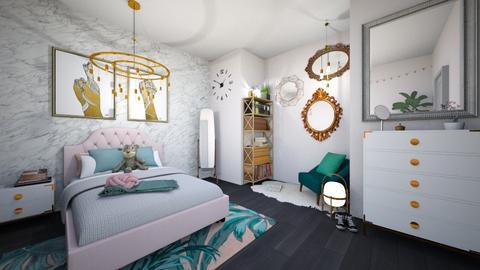 Teen Room - Modern - Bedroom - by bethmason1887