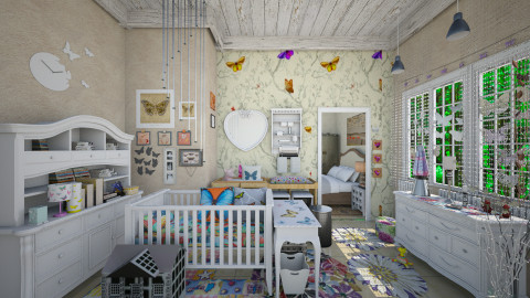 baby_room  - Eclectic - Kids room  - by Ida Dzanovic