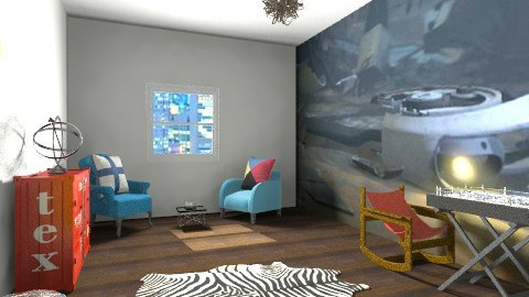 GLRP2 - Rustic - Living room - by whoivan6722