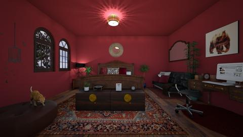Boho bedroom - Eclectic - Bedroom - by vitoriaspiridon
