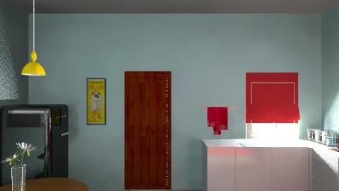 Kitchen - Minimal - Kitchen  - by diamondzin