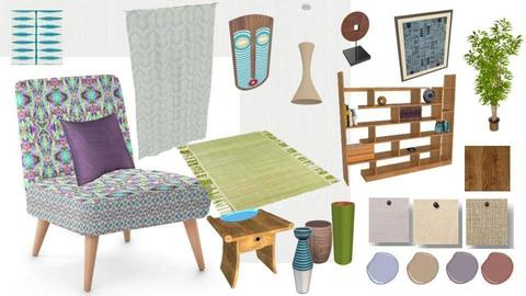Tribal Retro - by Interiors by Elaine