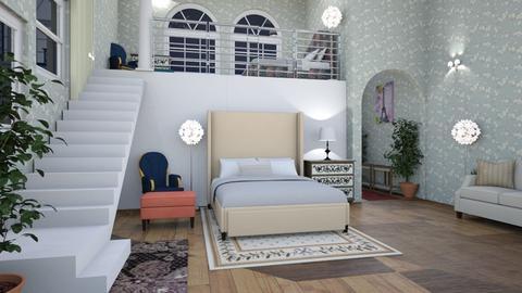 sisters2 - Bedroom - by Caye