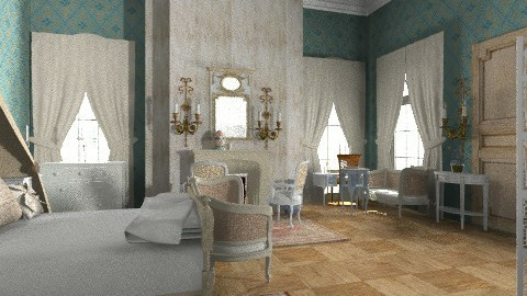 Boudoir - Classic - Bedroom  - by PomBom