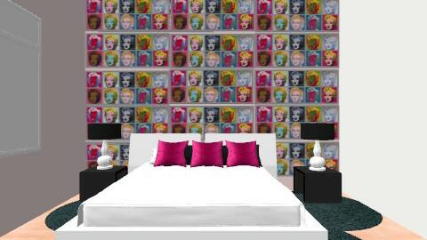 Tamara Manhardt - Retro - Bedroom  - by TamyDC
