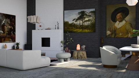 Roma - Living room  - by LillMiaaa