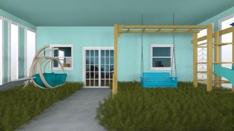 Blue Hearts Dorm room  - Modern - Kids room  - by sydpav29
