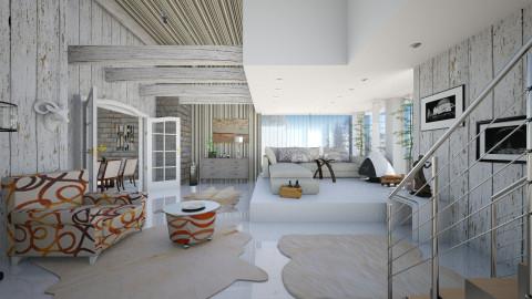 family interior  - Modern - Living room  - by Ida Dzanovic