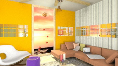 Colored wood - Modern - Living room  - by The Little World Of Jade