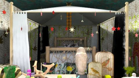 stanza safari - Eclectic - Bedroom  - by livia87