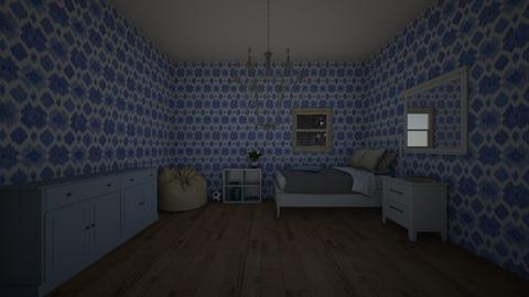 blue love - Modern - Bedroom  - by skz1