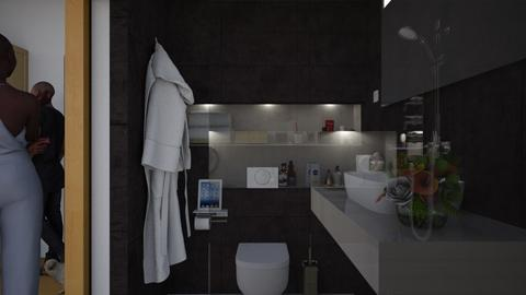Denzel's Bathroom detail II - Modern - Bathroom  - by Claudia Correia