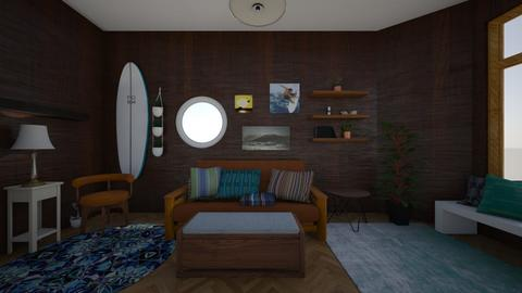 Surf Living Room - Living room - by moonflower_