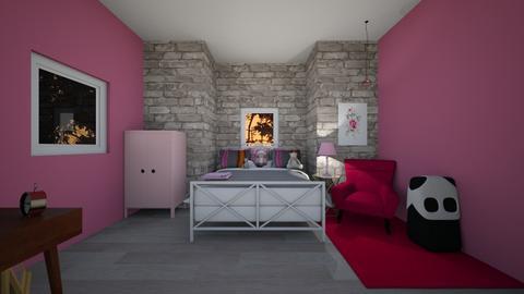 little girl bedroom - Kids room  - by mayaann_10