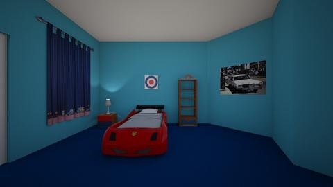 little boys room  - Bedroom  - by angelicalomangino