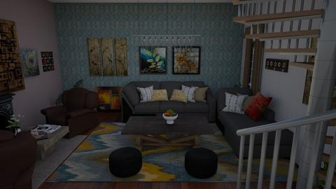 test - Rustic - Living room - by ankitac2291